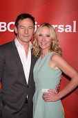 LOS ANGELES - JUL 14:  Jason Isaacs, Anne Heche at the NBCUniversal July 2014 TCA at Beverly Hilton on July 14, 2014 in Beverly Hills, CA