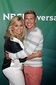 LOS ANGELES - JUL 14:  Julie Chrisley, Todd Chrisley at the NBCUniversal July 2014 TCA at Beverly Hi