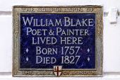 William Blake Plaque