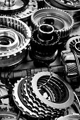 image of automobile gear assembly