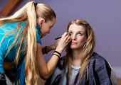 Make-up Session - Two Young Women