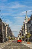 Old-type tram