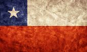 Chile grunge flag. Vintage, retro style. High resolution, hd quality. Item from my grunge flags coll