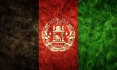 Afghanistan grunge flag. Vintage, retro style. High resolution, hd quality. Item from my grunge flag