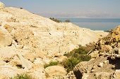 foto of israel israeli jew jewish  - beautiful photos of dead sea cliffs - JPG