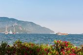 Bay With Yachts In Marmaris