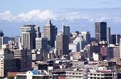 Skyline Of Central Business District In Durban, South Africa