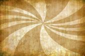 Abstract Yellow Vintage Grunge Background With Sun Rays
