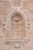 Antique wall element