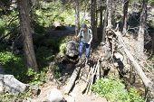 pic of beartooth  - Hiking in Montana - JPG