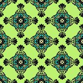 Green geometric  seamless abstract vector