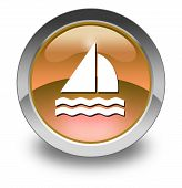 Icon, Button, Pictogram Sailing
