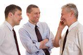 Three Businessmen Together