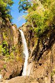 River Flowing Waterfall Divine