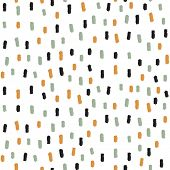 Abstract seamless dashed pattern