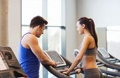 picture of treadmill  - sport - JPG