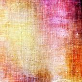 Art vintage background with space for text and different color patterns: purple (violet); red; orange; brown; yellow