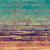 Beautiful antique vintage background. With different color patterns: blue; purple (violet); orange; brown; yellow