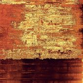Old, grunge background texture. With different color patterns: orange; brown; yellow