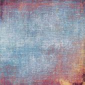 Art grunge vintage textured background. With different color patterns: blue; purple (violet); brown; yellow