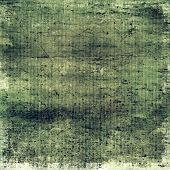 Old designed texture as abstract grunge background. With different color patterns: black; gray; green