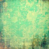 Old antique texture or background. With different color patterns: yellow; brown; green