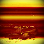 Old, grunge background texture. With different color patterns: red; orange; brown; yellow
