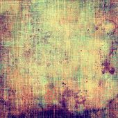 Abstract textured background designed in grunge style. With different color patterns: green; purple (violet); orange; brown; yellow