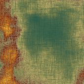 Retro background with grunge texture. With different color patterns: green; brown; yellow