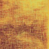 Old abstract grunge background for creative designed textures. With different color patterns: orange; brown; yellow