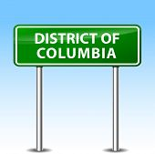 District Of Columbia Sign