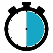 Stopwatch Icon: 30 Minutes / 30 Seconds / 6 Hours