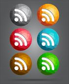 Set Of Icons Rss