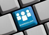 Computer Keyboard Shareholder