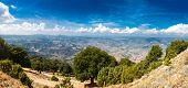 Panoramic View From The Mountains On Sardinia