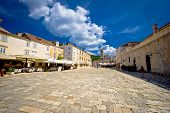 Central Pjaca Square Of Hvar Town