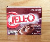 Box Of Jell-o Chocolate Pudding