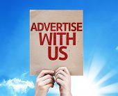 Advertise With Us card with beautiful day