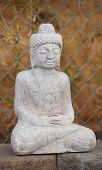 picture of gautama buddha  - Antique Tibetan style Shakyamuni Buddha statue in temple - JPG