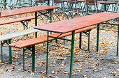 Autumn Mood, Bench, Hardwood