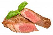 Sirloin Steak Cooked Rare