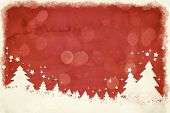 An image of a nice grunge red christmas background