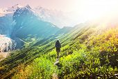 Hike in Svaneti mountains