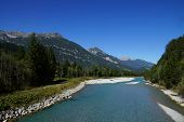 River in the Alps