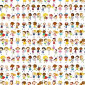 Wrapping paper with children design
