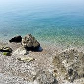 image of naturist  - A sunny day in a Stunning Naturist Beach in Trieste Italy  - JPG