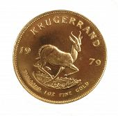 foto of oz  - 1979 South African Gold Krugerrand 1 ounce coin - JPG