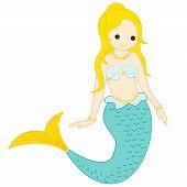 image of mermaid  - Illustration  - JPG