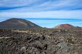 picture of canary-islands  - National Park Timanfaya on the island of Lanzarote Canary Islands Spain - JPG