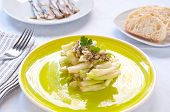 foto of chicory  - Chicory salad typical of the city of Rome - JPG
